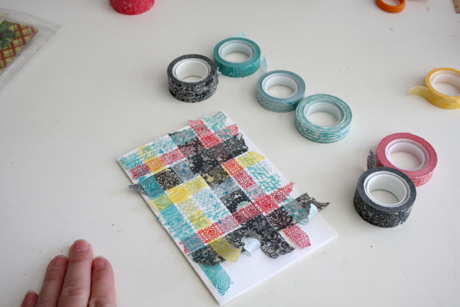 Washi Weaving 4