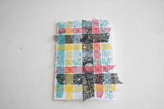 Washi Weaving 5