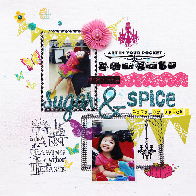 Iris Sugar and Spice