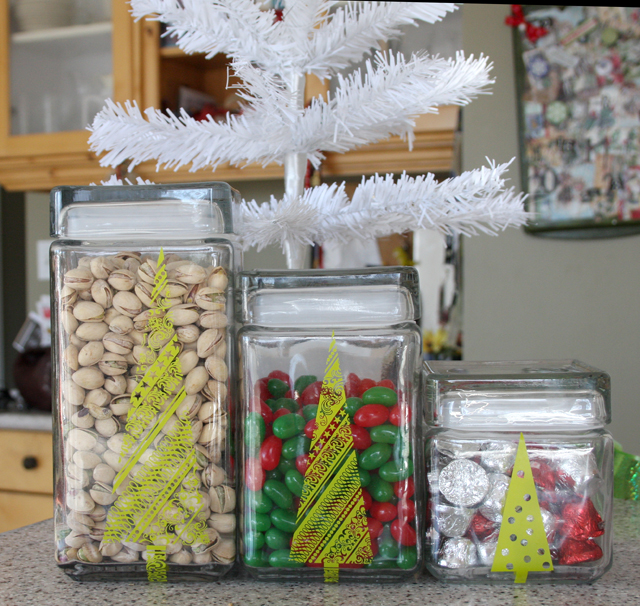 Festive Holiday Treat Containers