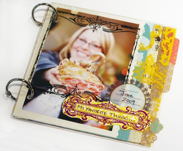 Scrapfest 2009 mini-book