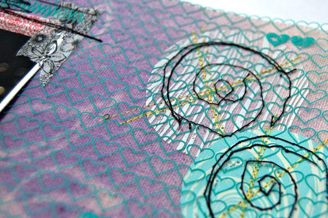 Glance-stitching