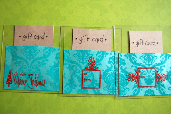 Hambly giftcard holders
