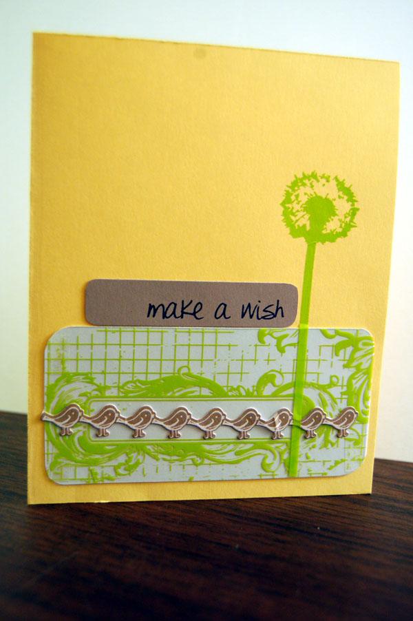 Make a wish-hambly